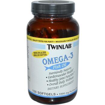 Купить Twinlab Omega-3 Fish Oil 100 Softgels