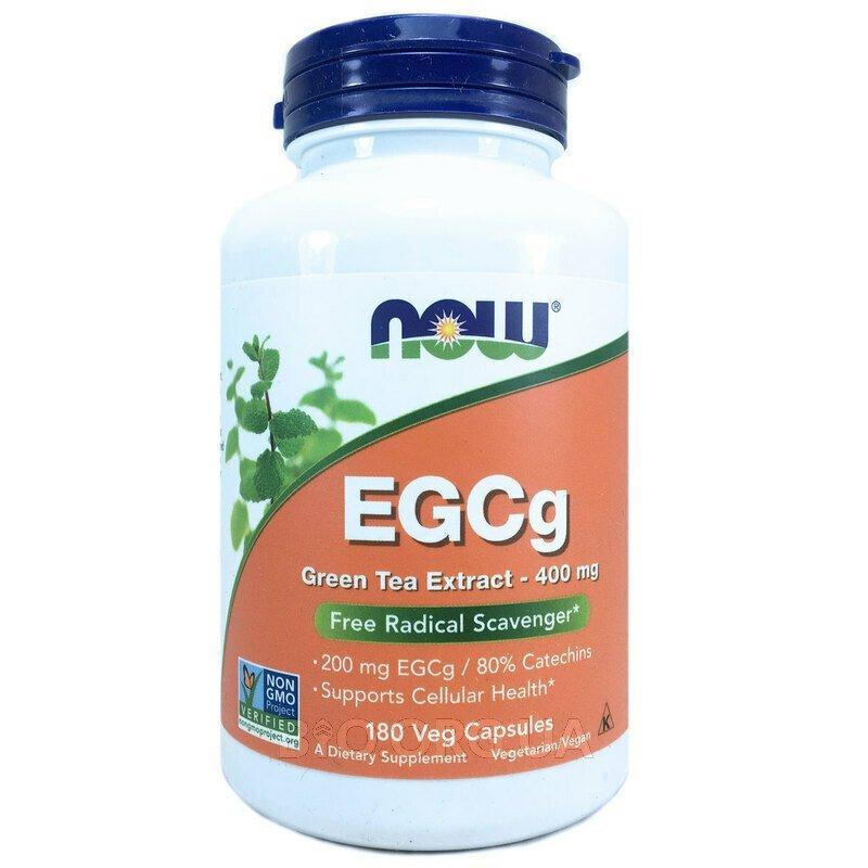 Эгкг экстракт зеленого чая 400 мг 180 капсул фото товара