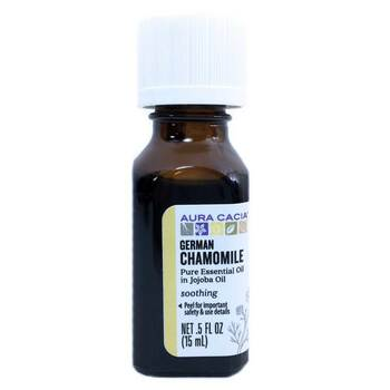 Купить Aura Cacia German Chamomile In Jojoba Oil 15 ml