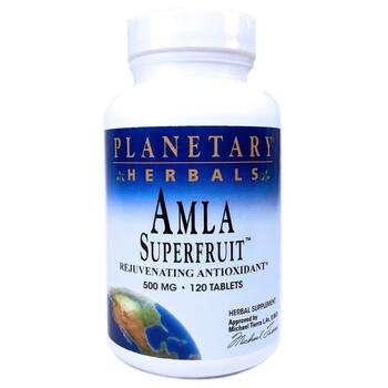 Купить Planetary Herbals Amla Superfruit Rejuvenating Antioxidant 500...
