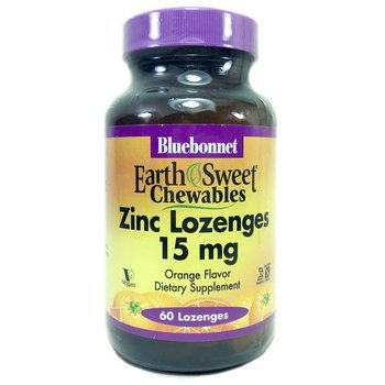 Купить EarthSweet Zinc Lozenges Natural Orange Flavor 15 mg 60 Lozenges