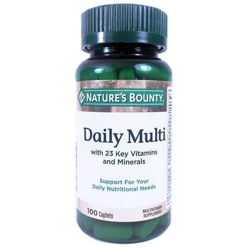 Купить Nature's Bounty Daily Multi Nutritional Support 100 Caplets
