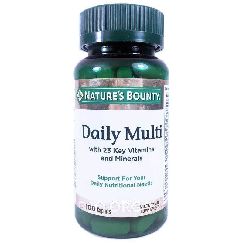 Daily Multi Nutritional Support 100 капсул фото товара