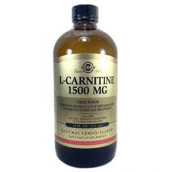 Купить Solgar L-Carnitine Natural Lemon 1500 mg 473 ml