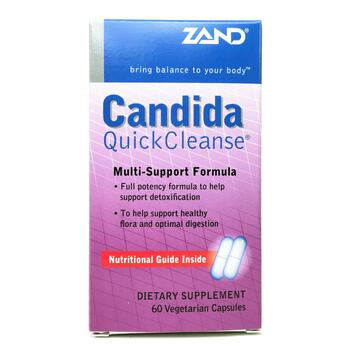 Купить Zand Candida Quick Cleanse 60 Veggie Caps