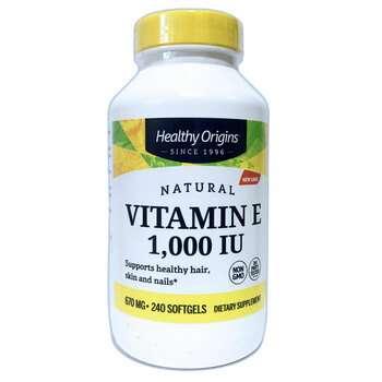 Купить E-1000 240 Softgels (Вітамін E 1000 МО 240 капсул)