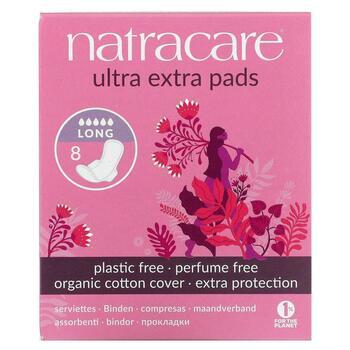 Купить Natracare Organic & Natural Ultra Extra Pads Long 8 Pads