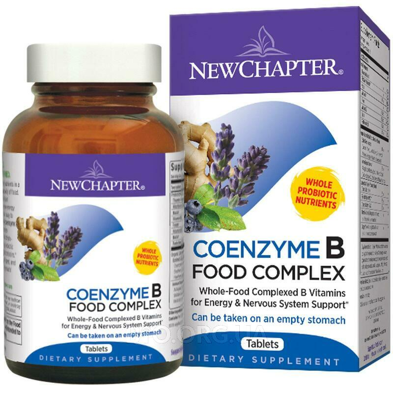 Coenzyme B Food Complex 180 Tablets фото товара