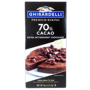 Купить Ghirardelli Premium Baking Bar 70% Cacao Chocolate 113.5 g