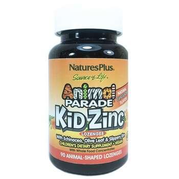 Купить Animal Parade Kid Zinc 8 mg 90 Lozenges
