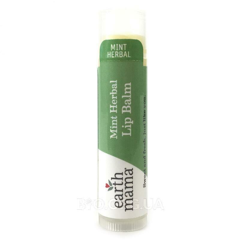 Энджел Беби Травяной бальзам для губ с мятой 4.25 г фото товара
