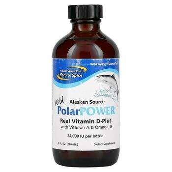 Купить North American Herb & Spice Co. Alaskan Wild PolarPower Wild S...