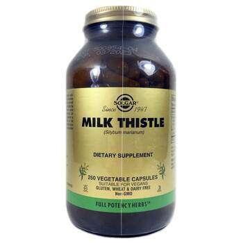 Купить Milk Thistle 250 Vegetable Capsules ( Розторопша плямиста Будя...