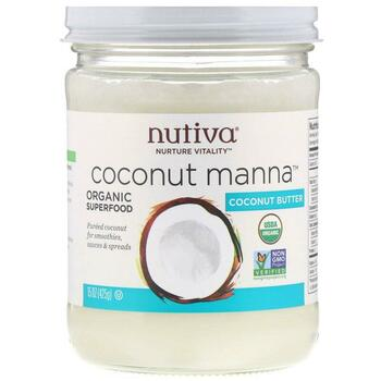 Купить Nutiva Organic Coconut Manna Pureed Coconut 425 g