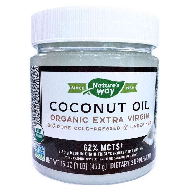 Нэйчерс Вэй Органическое кокосовое масло 448 г фото товара