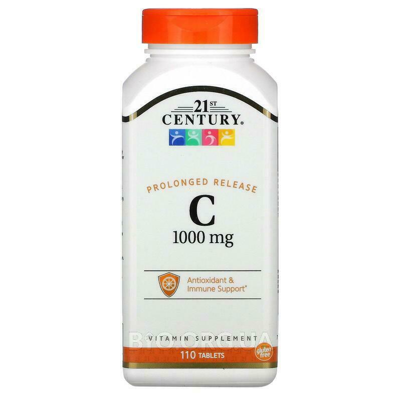 21 век Витамин С 1000 мг с замедленным высвобождением 110 табл... фото товара