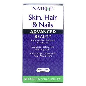 Купить Natrol Skin Hair & Nails Advanced Beauty 60 Capsules