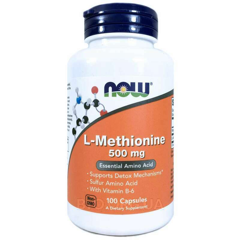 L-Метионин 500 mg 100 Capsules фото товара