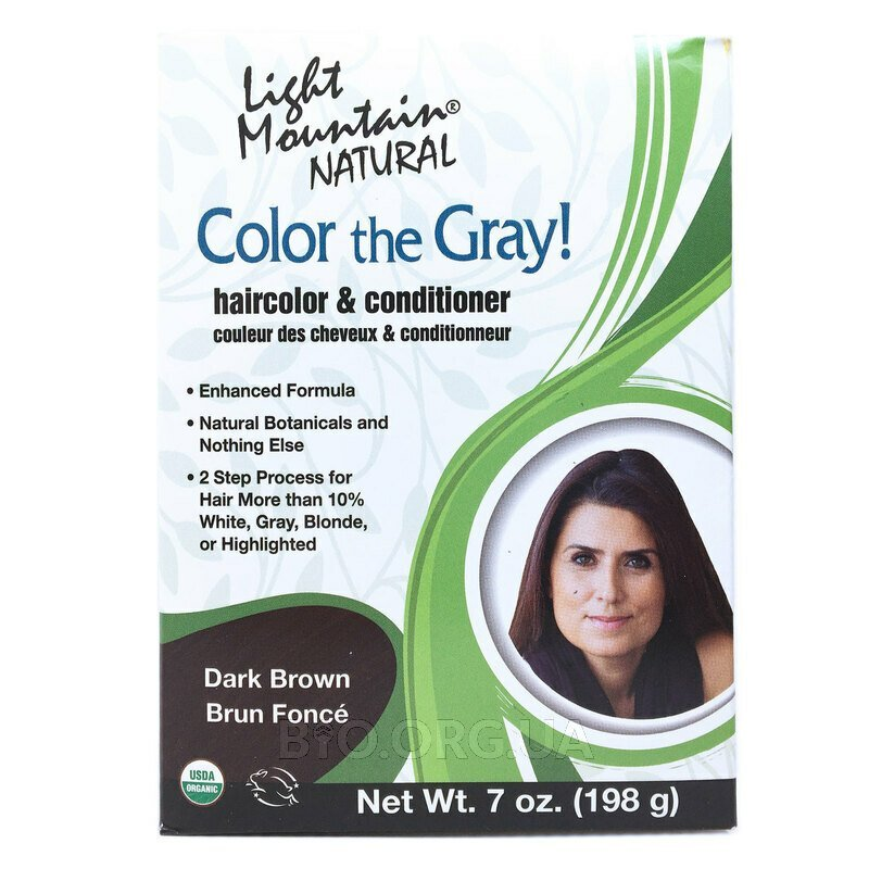 Натуральная краска для седых волос хна и басма цвет шоколад тё... фото товара