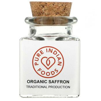 Купить Pure Indian Foods Organic Saffron 1 g
