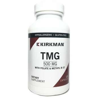 Купить ТМГ с Фолиевой кислотой и B-12 500 мг 120 капсул
