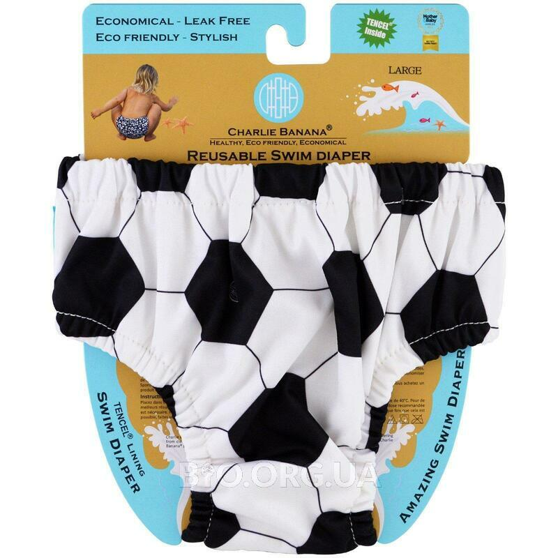 Charlie Banana Reusable Swim Diaper Soccer Large 1 Diaper