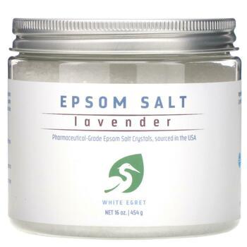Купить Epsom Salt Lavender 454 g ( Epsom Salt Lavender 454 g)