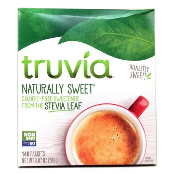 Купить Truvia Naturally Sweet Calorie Free Sweetener 140 Packets 280 g