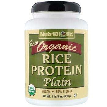 Купить NutriBioticRaw Organic Rice Protein Plain 600 g