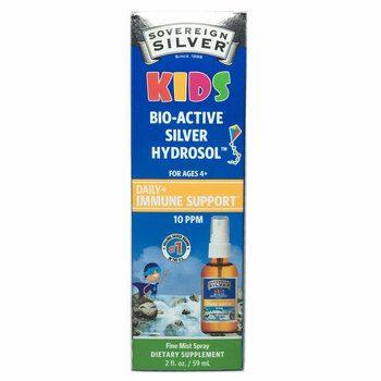 Купить Bio-Active Silver Hydrosol For Kids 59 ml (Спрей з сріблом для...