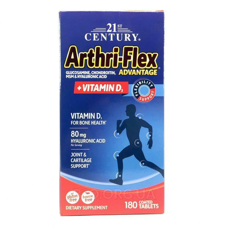 21 век Aртри Флекс c Витамином D3 180 таблеток фото товара