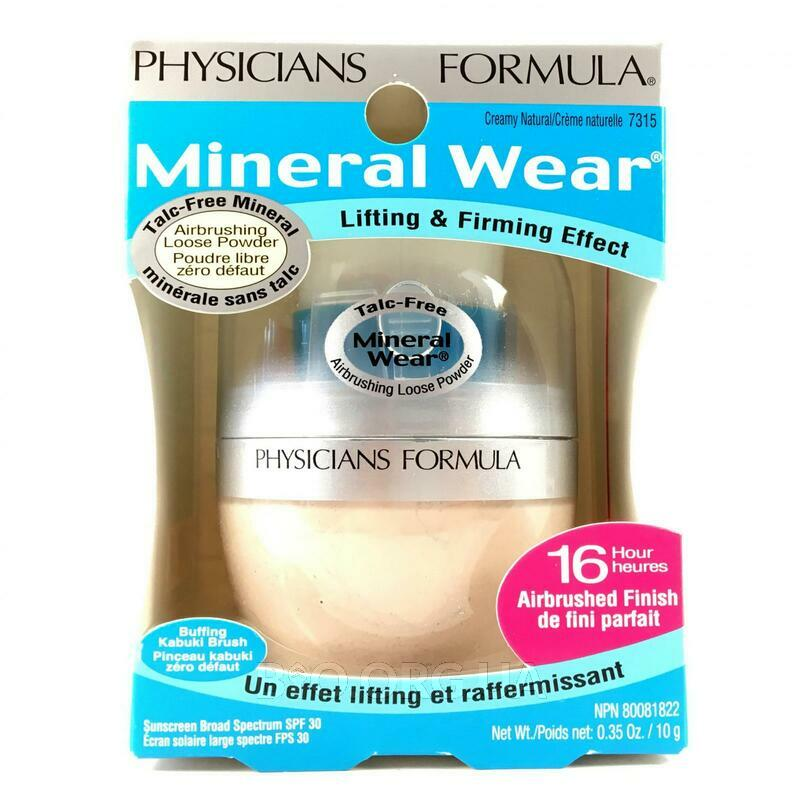 Рассыпчатая минеральная пудра SPF 30 для чувствительной кожи с... фото товара