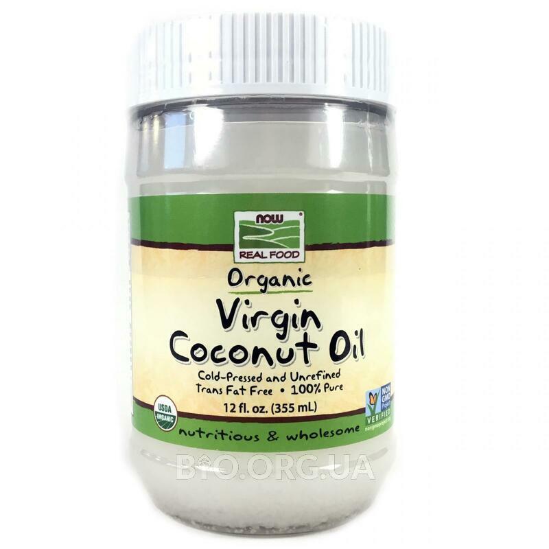 органическое кокосовое масло первого отжима 355 мл фото товара