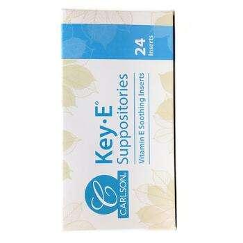 Купить Key E Suppositories Natural Vitamin E 24 Soothing Inserts ( Су...