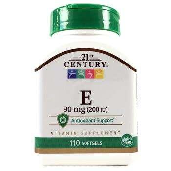 Купить Vitamin E 200 UI 90 ml 110 Softgels