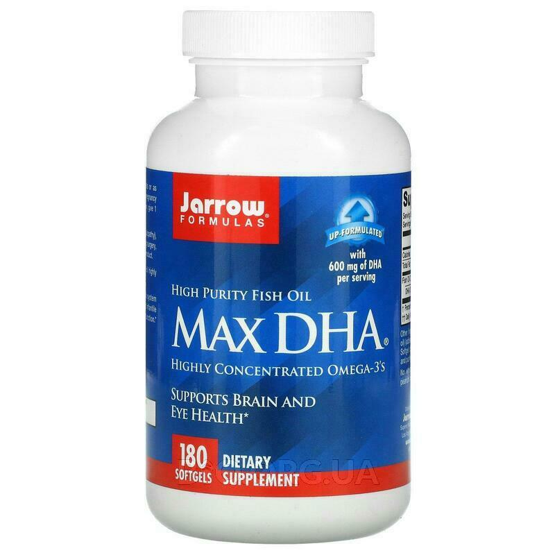Max DHA 180 Softgels фото товара