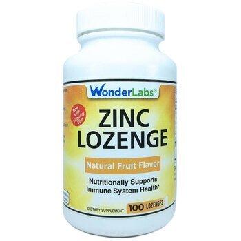 Купить Zinc Lozenge 25 mg 100 Lozenges ( Цинк в пастилках 25 мг 100 п...