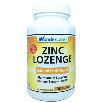 Купить Wonder Laboratories Zinc Lozenge 25 mg 100 Lozenges