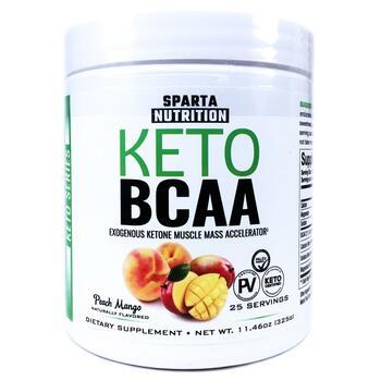 Купить Sparta Nutrition Keto Series Keto BCAA Peach Mango 325 g