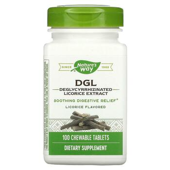 Купить DGL Deglycyrrhizinated Licorice Extract Licorice Flavored 100 ...