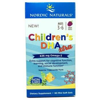 Купить Nordic Naturals Children's DHA Xtra Berry Punch 636 mg 90 Mini...