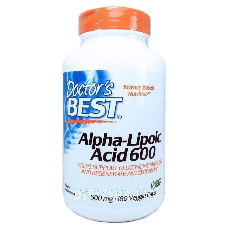 Альфа-Липоевая кислота 600 мг 180 капсул в растительной оболочке фото товара