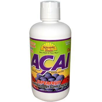 Купить Dynamic HealthLaboratories Acai Plus Juice Blend 946 ml (Dynam...
