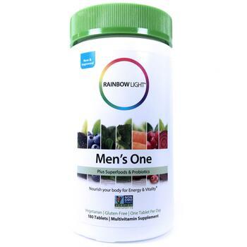 Купить Rainbow Light Men s One 180 Tablets