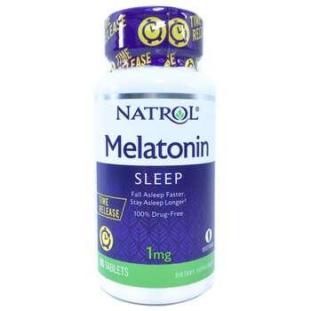 Купить Natrol Melatonin Time Release 1 mg 90 Tablets