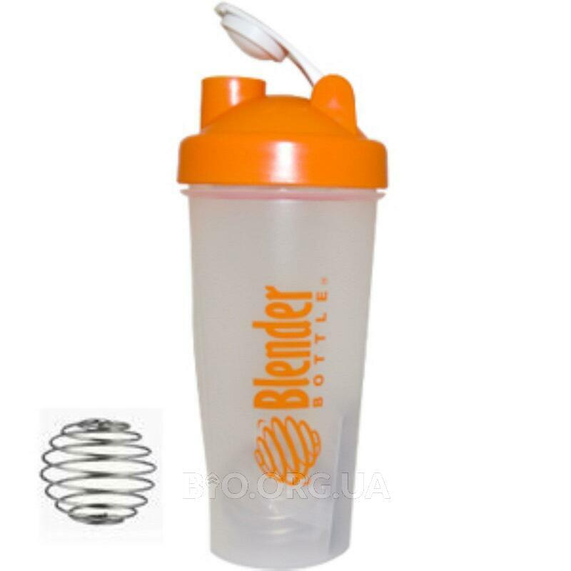 Бутылка Blender с шариком Blender Цвет: оранжевая бутылка фото товара