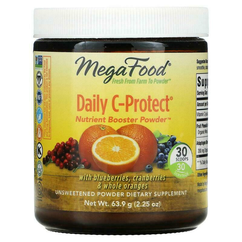 MegaFood Daily C Protect Nutrient Booster Powder 64 g