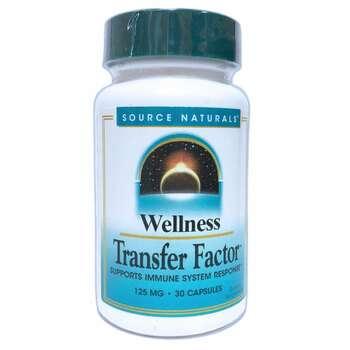 Купить Wellness Transfer Factor 125 mg 30 Veggie Caps ( Трансфер Факт...
