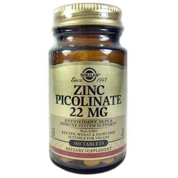 Купить Zinc Picolinate 22 mg 100 Tablets