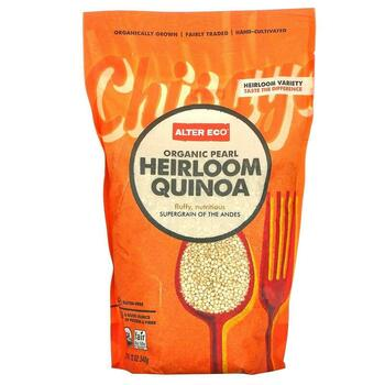 Купить Organic Pearl Heirloom Quinoa 340 g (Алтер Еко Традиційна орга...